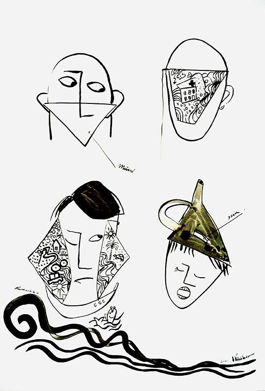 Wie man Masken trägt